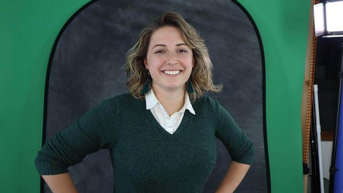 """Esmee Bos heeft haar eigen videobedrijf. ,,In de VS had ik al de nodige voorbereidingen getroffen."""""""