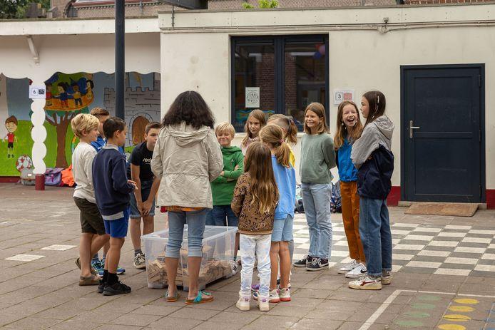 De eerste schooldag in basisschool Westerhem in Sint-Denijs-Westrem