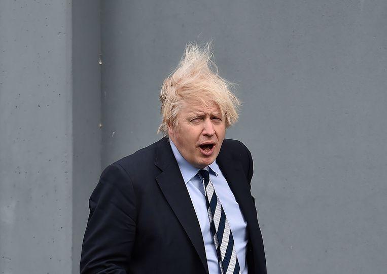 De Britse premier Boris Johnson. Beeld Reuters