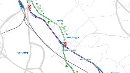 Westdijk in Beernem en Oostkamp krijgt nieuw wegdek
