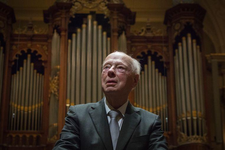 Het allerlaatste concert onder leiding van Bernard Haitink (90) is vrijdag 6 september rechtstreeks te horen op NPO Radio 4. Beeld ANP