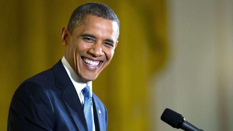 Amerikaans president Barack Obama Beeld ANP