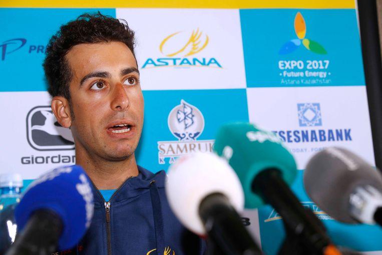 Fabio Aru over de 'bodycheck' aan leider Froome: