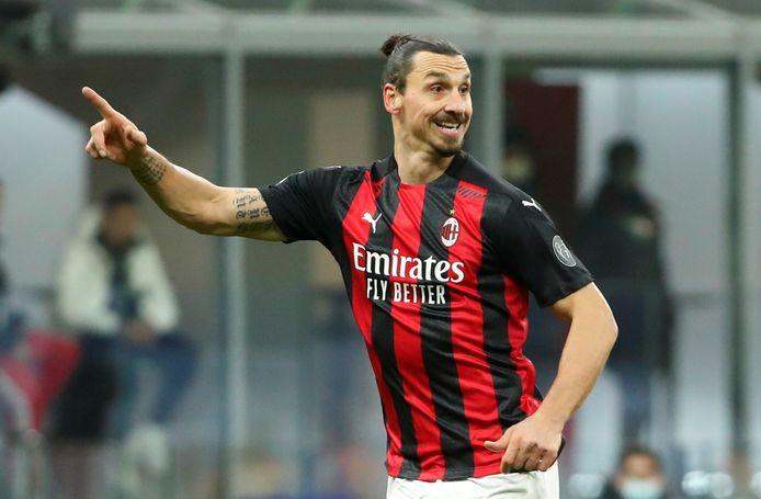 Zlatan Ibrahimovic keerde vorig jaar terug bij AC Milan.