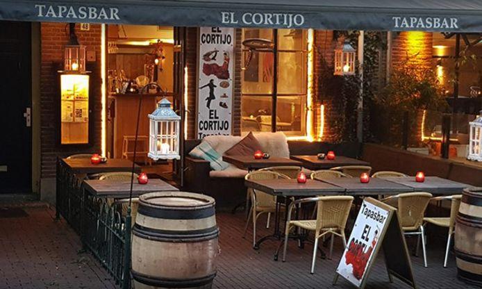 Restaurant El Cortijo gelegen aan het Arnhemse Jansplein.