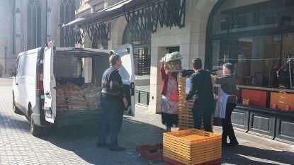 Leuvense Burger King schenkt overschotten aan Poverello