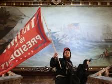 Woedende Trumpaanhangers dringen Capitool binnen
