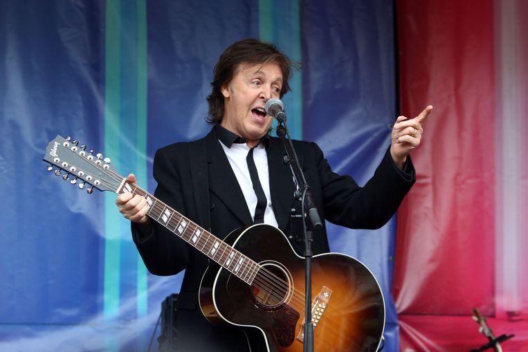 Paul McCartney. Beeld Photo News