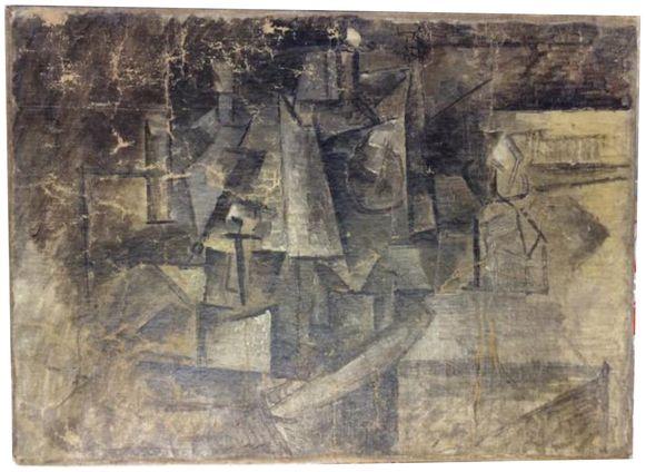 Het schilderij 'De Kapster' is ongeveer 13,5 miljoen dollar waard.