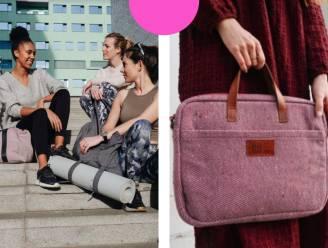Het nieuwe Belgische merk 'be the fibre' maakt hippe accessoires van versleten jeansbroeken, truien of jassen