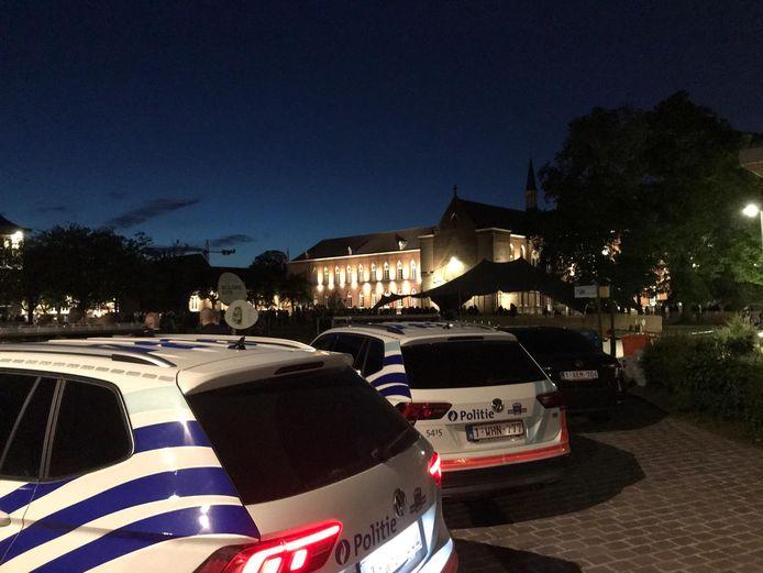 De politie zette de Bijlokesite af rond 22.30 uur.