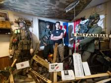 Barry (18) opent oorlogsmuseum in schuurtje in Apeldoorn