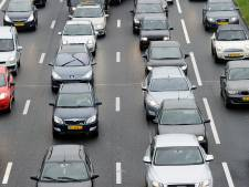 File op A73 naar Nijmegen door ongeval voorbij