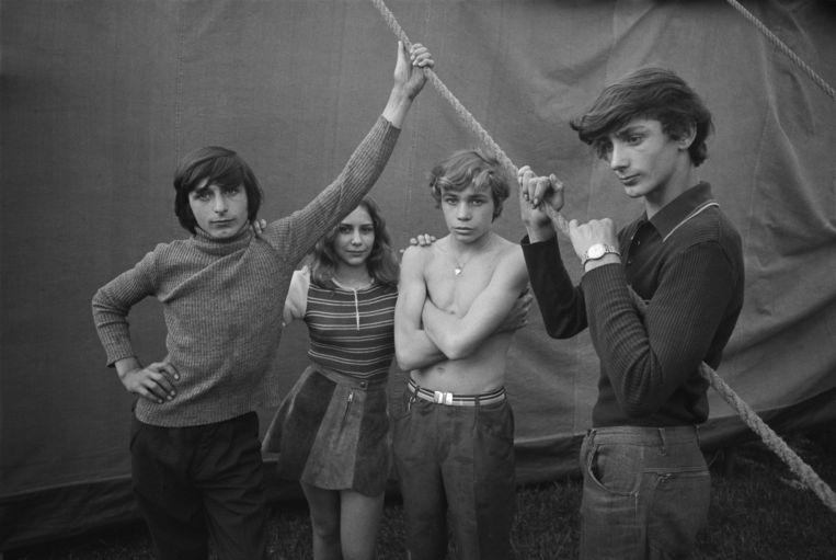 Zirkus Hein, 1973, DDR. Foto Ute Mahler.  Beeld Ute & Werner Mahler / OSTKREUZ