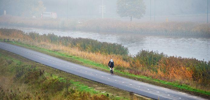De Zuid-Willemsvaart bij Veghel.