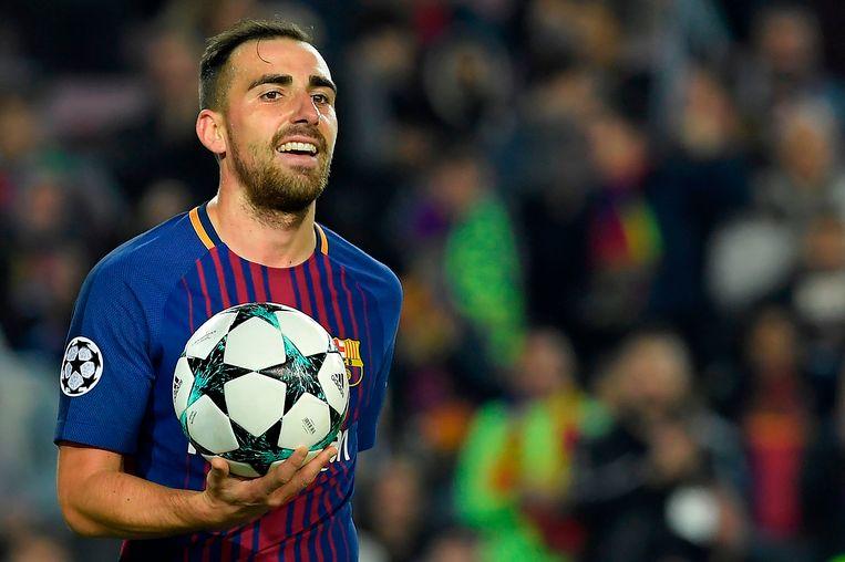 Dortmund huurt Paco Alcacer dit seizoen van FC Barcelona.