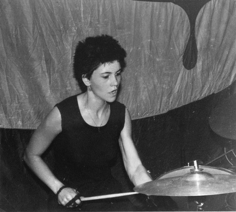 Katherina Bornefeld in 1985. Beeld Privé archief
