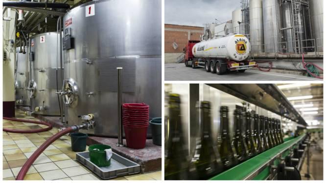 """Onze supermarkten vullen zélf de flessen: """"Zelfs wijn uit Frankrijk wordt en masse in tankwagens aangevoerd"""""""