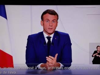 """Macron: """"Franse winkels mogen vanaf zaterdag heropenen"""""""