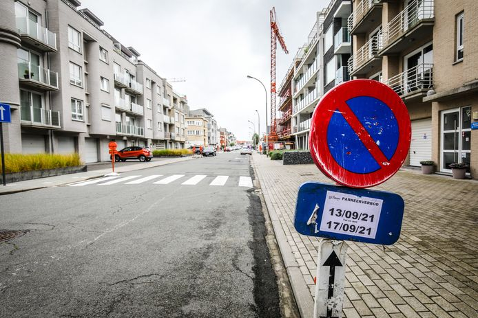 De Langestraat en zijstraten te Wenduine worden afgesloten wegens werken