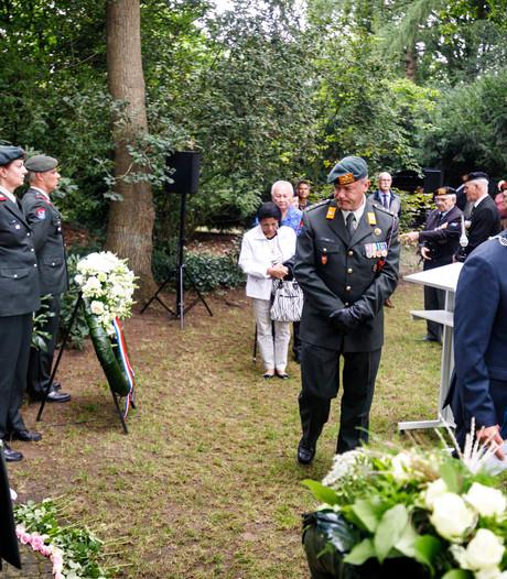 Defensie weer aanwezig bij herdenking  Indisch Monument in Steenwijk