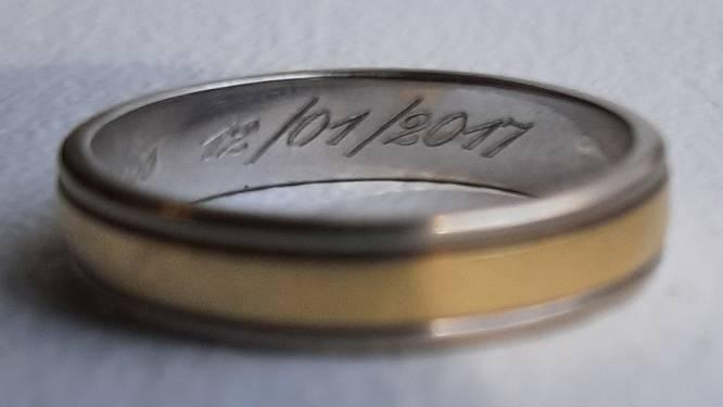 Politie zoekt eigenaar van deze verloren trouwring