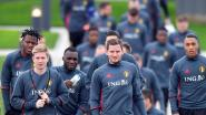 Fellaini en Meunier niet op trainingsveld in Tubeke