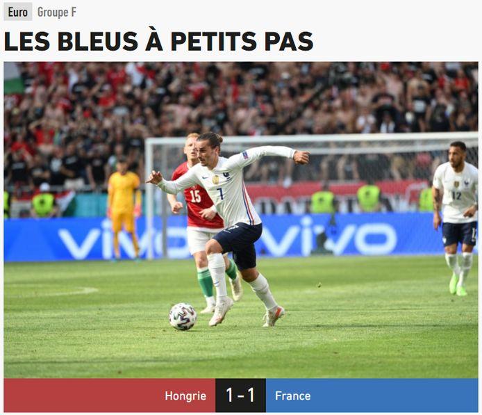 L'Équipe over de Franse nationale ploeg.