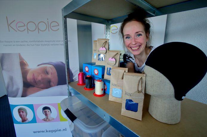 Annemieke van Lubeek is in 4 jaar tijd zo gegroeid met haar bedrijf Keppies dat ze nu de stap maakt naar een eigen kantoor.