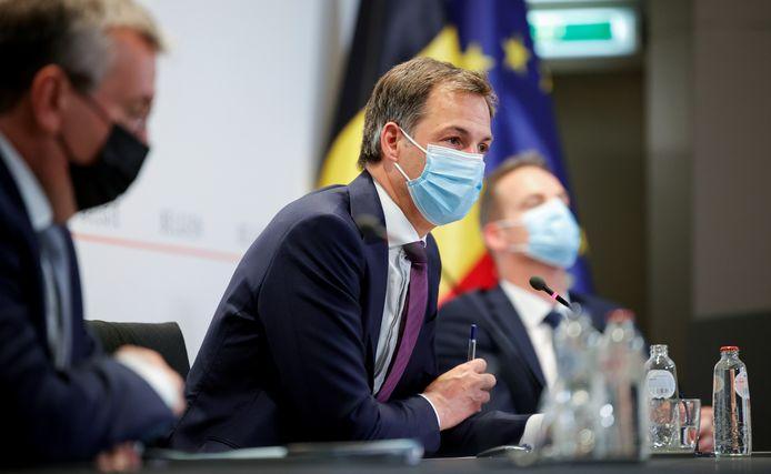 Premier Alexander De Croo (Open Vld)