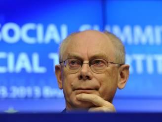Van Rompuy predikt geduld