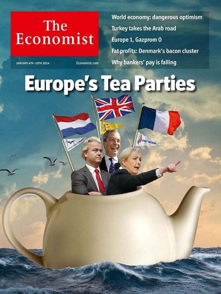 The Economist-cover deze week. Beeld The Economist