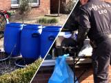 Politie houdt scooterrijder aan en ontdekt drugslab in huis