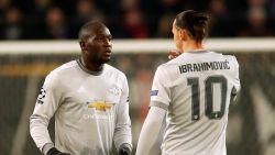 Hoe Zlatan na één pittig duel op training de ogen opende van Romelu Lukaku
