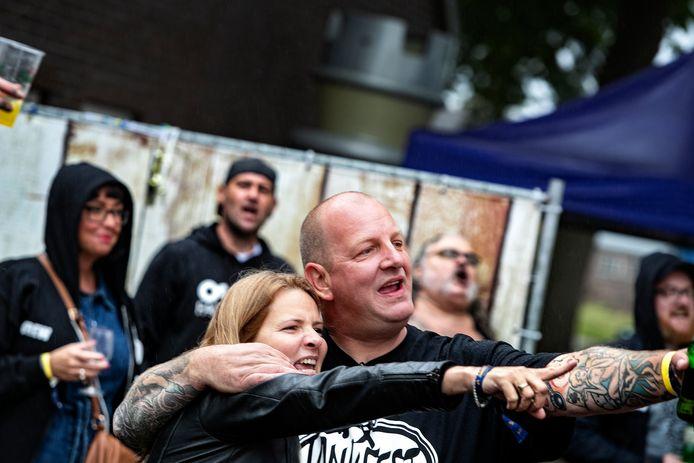 Richard en Sharon Theuws op het Jankfest.