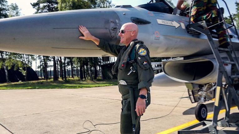 F-16. Beeld F-16