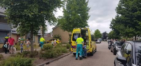 Jong meisje aangereden in woonwijk in Sprang-Capelle