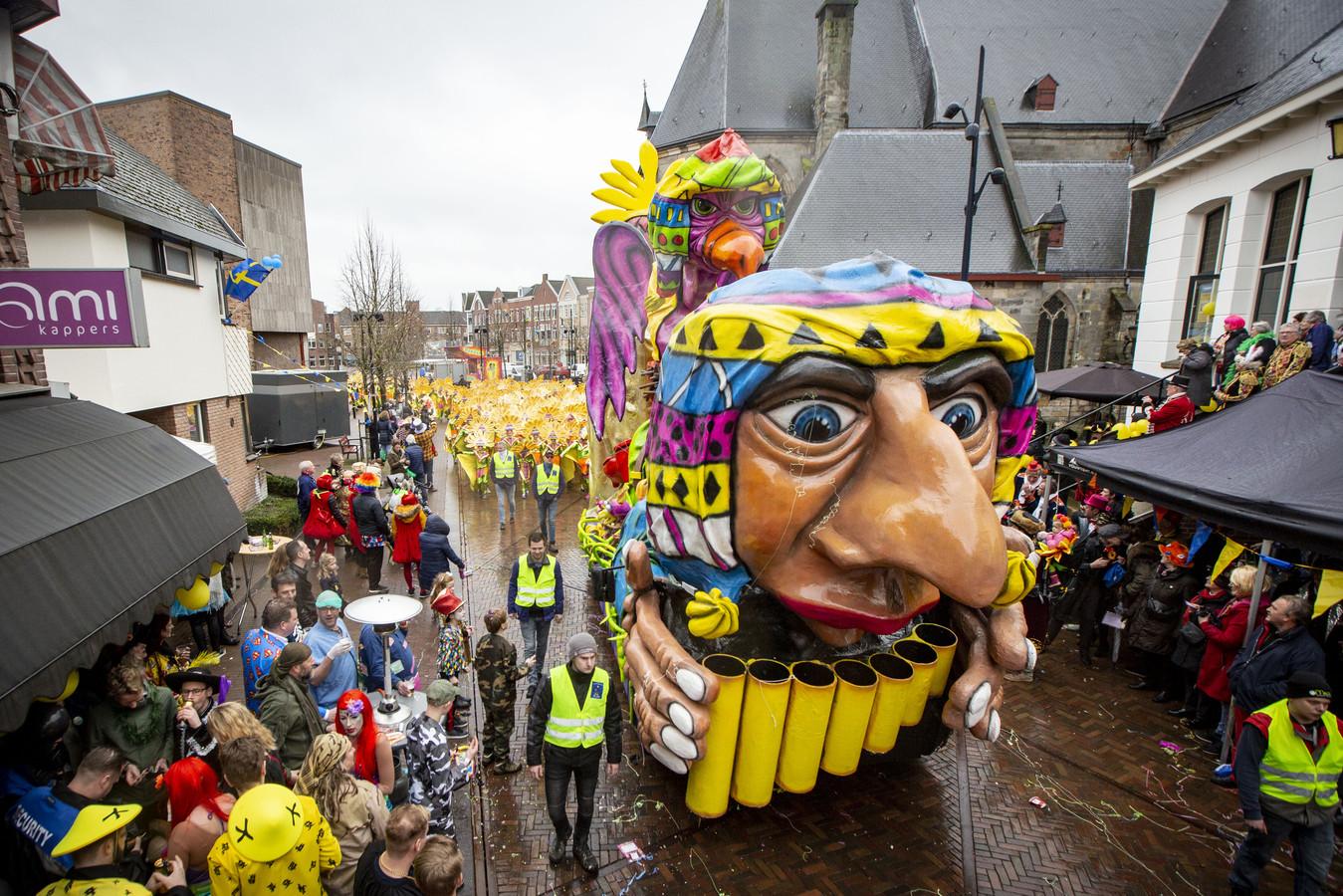 De optocht in Oldenzaal tijdens carnaval 2019.
