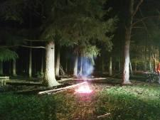 Brandweer maakt einde aan vuurtje stoken op Dagcamping in Holten