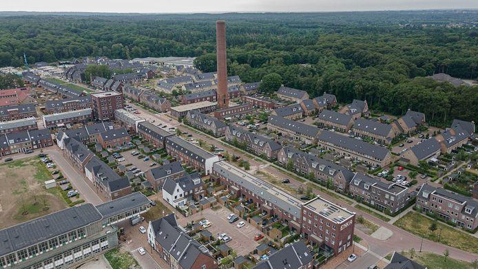 Op het voormalige fabrieksterrein van de Enka in Ede is inmiddels een woonwijk gebouwd. In de bodem is een pluim verontreinigd grondwater achtergebleven die langzaam richting een natuurgebied verschuift.