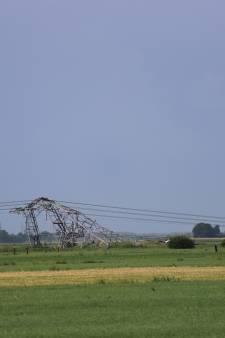 Code oranje voor bijna heel het land, vier elektriciteitsmasten omgewaaid