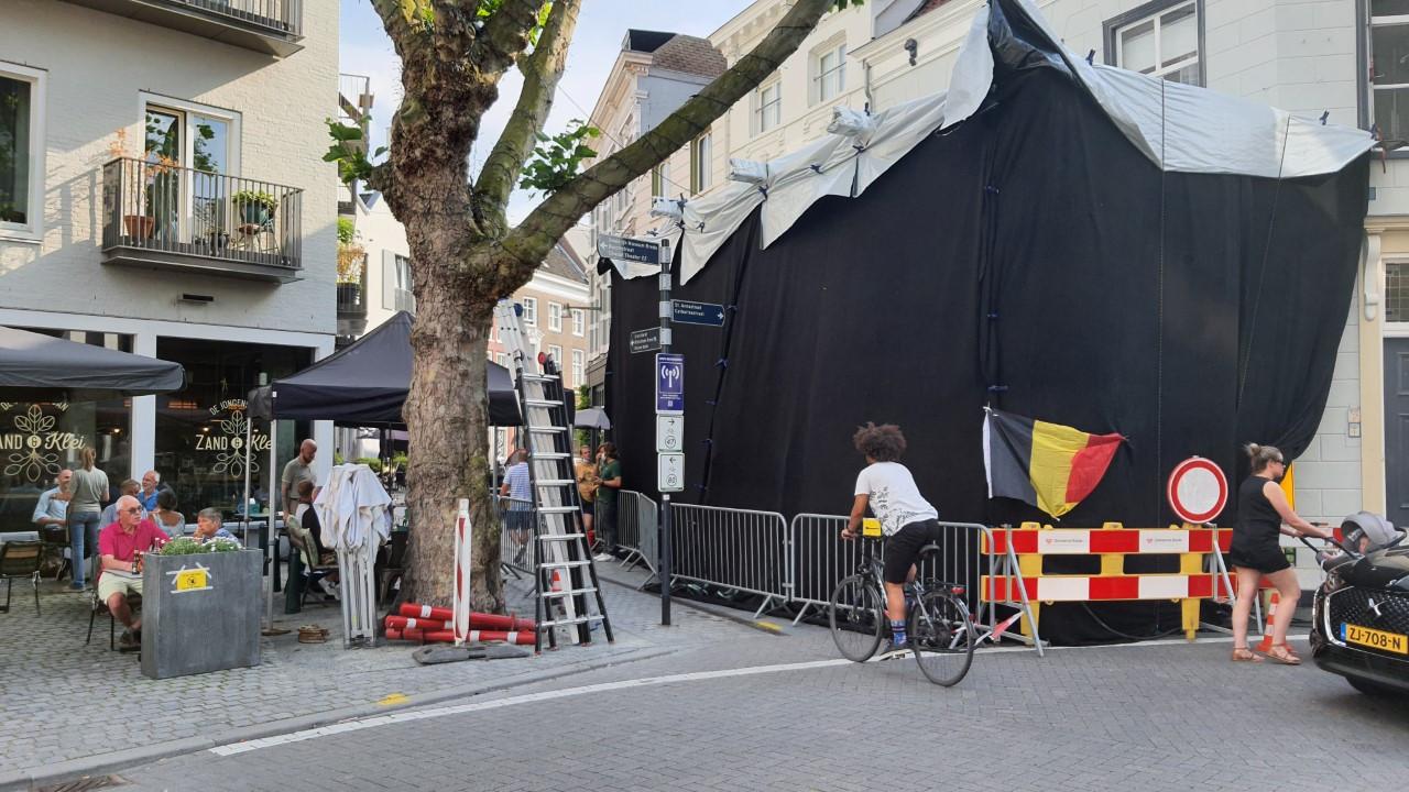 Filmopnames van The Claus Family 2 in Breda