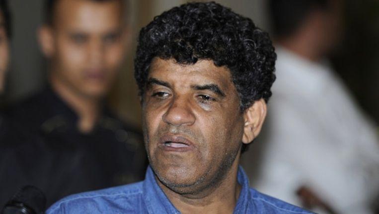 Abdullah al-Senussi in augustus. Beeld reuters