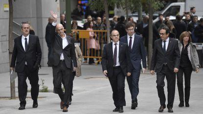 Twee nieuwe Catalaanse onafhankelijkheidsleiders in hongerstaking