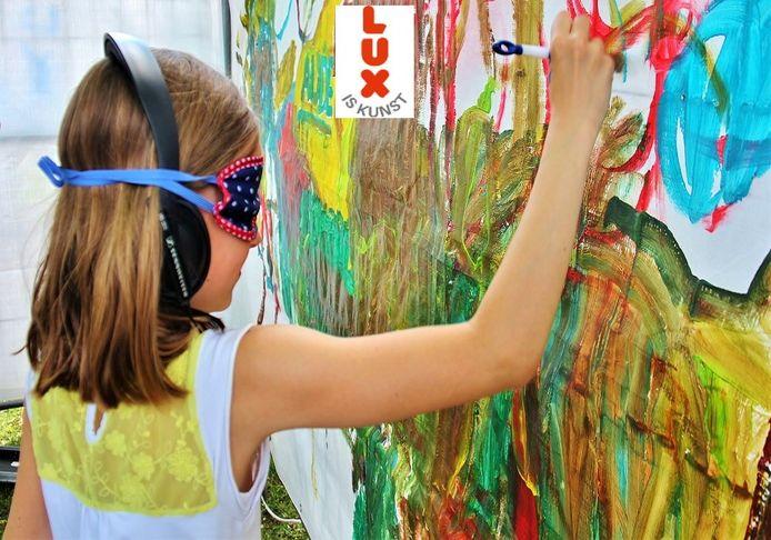 Het campagnebeeld van Lux Is Kunst.