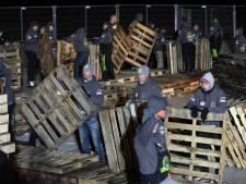 Bouwers vreugdevuren: 'Wij kunnen best aan de eisen voldoen'