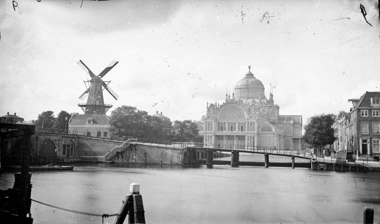 Het Paleis voor Volksvlijt. Beeld A. Jager, Stadsarchief Amsterdam