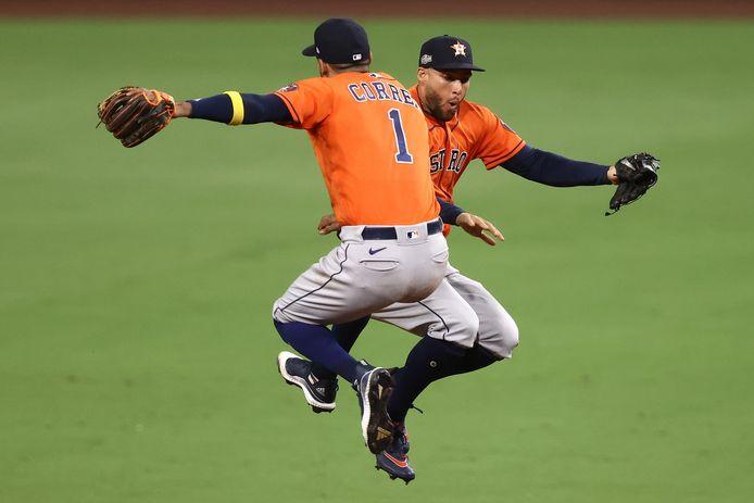 Feest bij de Houston Astros.