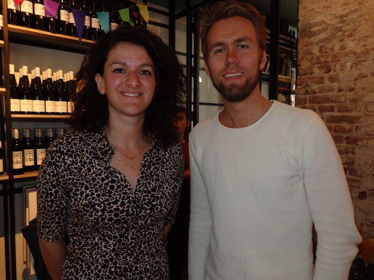 Selma Seddik en Bart Roetert, de andere oprichters van Instock Coocking. Beeld Schuim