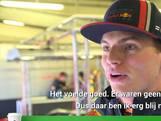 Max Verstappen test nieuwe Red Bull auto